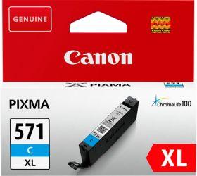 CANON ORIGINAL - Canon CLI-571XL Cyan (11 ml) Cartouche de marque 0332C001