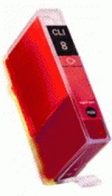 COMPATIBLE CANON - CLI-8 rouge (14 ml) Cartouche générique avec puce