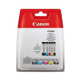 CANON ORIGINAL - Canon PGI-570/CLI-571 - Pack de 5 cartouches de marque 0372C004