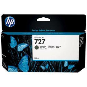 HP ORIGINAL - HP 727 / C1Q12A Noir Mat (300ml) Cartouche de marque