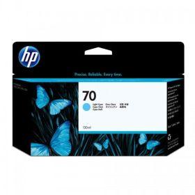 HP ORIGINAL - HP 70 / C9390A Cyan Clair (130 ml) Cartouche de marque