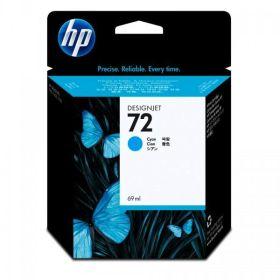 HP ORIGINAL - HP 72 / C9398A Cyan (69 ml) Cartouche de marque