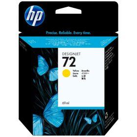 HP ORIGINAL - HP 72 / C9400A Jaune (69 ml) Cartouche de marque