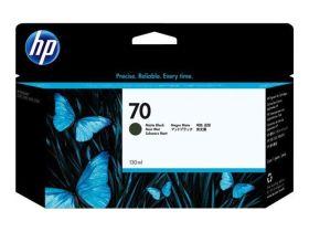 HP ORIGINAL - HP 70 / C9448A Noir Mat (130 ml) Cartouche de marque