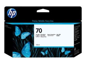 HP ORIGINAL - HP 70 / C9449A Noir Photo (130 ml) Cartouche de marque