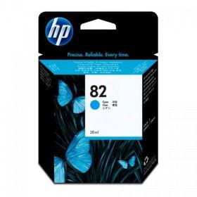 HP ORIGINAL - HP 82 / CH566A Cyan (28 ml) Cartouche de marque