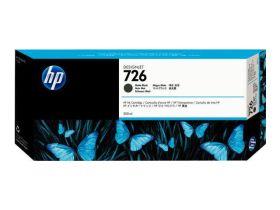 HP ORIGINAL - HP 726 / CH575A Noir (300 ml) Cartouche de marque