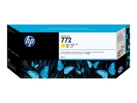 HP ORIGINAL - HP 772 / CN630A Jaune (300 ml) Cartouche de marque
