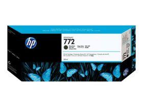 HP ORIGINAL - HP 772 / CN635A Noir mat (300 ml) Cartouche de marque