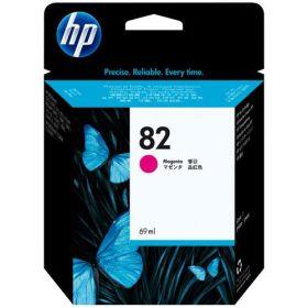 HP ORIGINAL - HP 82 / C4912A Magenta (69 ml) Cartouche de marque