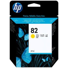 HP ORIGINAL - HP 82 / C4913A Jaune (69 ml) Cartouche de marque