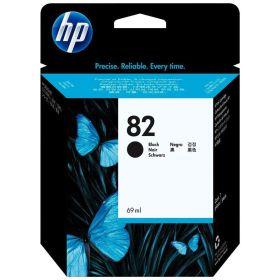 HP ORIGINAL - HP 82 / CH565A Noir (69 ml) Cartouche de marque