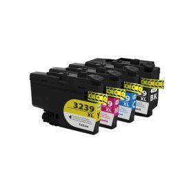 LC3239XL Pack de 4  Cartouches génériques noir, cyan, magenta, jaune