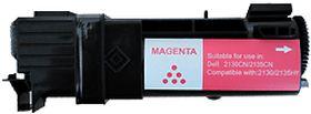 COMPATIBLE DELL - 593-10315 Magenta (2500 pages) Toner générique