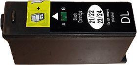 COMPATIBLE DELL - 592-11327 Noir (360 pages) Cartouche générique pour imprimante Dell V313, V513, V515 et V715