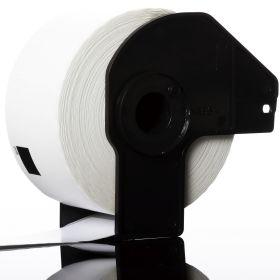 COMPATIBLE BROTHER - DK-11208 Etiquettes d'adresse grande taille génériques 38 x 90 mm, impression noir sur papier blanc
