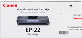 CANON ORIGINAL - Canon EP-22 Noir (2500 pages) Toner de marque