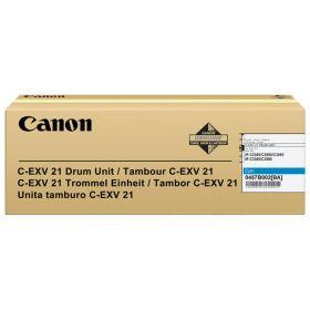 CANON ORIGINAL - Canon C-EXV 21 Cyan (53000 pages) Tambour de marque