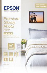 EPSON ORIGINAL - Papier photo premium glacé A4 255g/m²- 15 feuilles