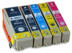 COMPATIBLE EPSON - PROMO 26XL ! Pack de 5 cartouches génériques T2636XL