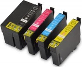 COMPATIBLE EPSON - PROMO 27XL Pack de 4 Cartouches génériques + 1 noire offerte