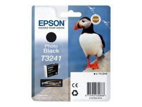 EPSON ORIGINAL - Epson T3241 Photo Noir (14 ml) Cartouche de marque