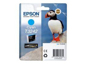 EPSON ORIGINAL - Epson T3242 Cyan (14 ml) Cartouche de marque