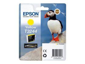 EPSON ORIGINAL - Epson T3244 Jaune (14 ml) Cartouche de marque