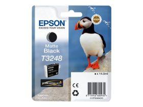EPSON ORIGINAL - Epson T3248 Noir Mat (14 ml) Cartouche de marque