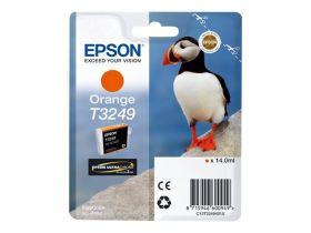 EPSON ORIGINAL - Epson T3249 Orange (14 ml) Cartouche de marque