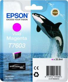 EPSON ORIGINAL - Epson T7603 Magenta Cartouche de marque Série 76