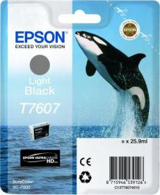 EPSON ORIGINAL - Epson T7607 Noir clair Cartouche de marque Série 76