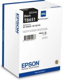 EPSON ORIGINAL - Epson T8651 XXL Noire (10000 pages) Cartouche de marque