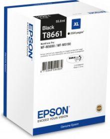 EPSON ORIGINAL - Epson T8661 XL Noire (2500 pages) Cartouche de marque