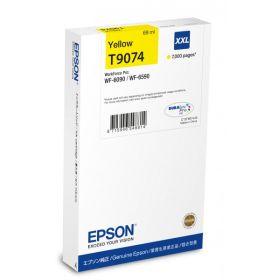 EPSON ORIGINAL - Epson T9074 Jaune (7000 pages) Cartouche de marque pour WF-6090/ 6590