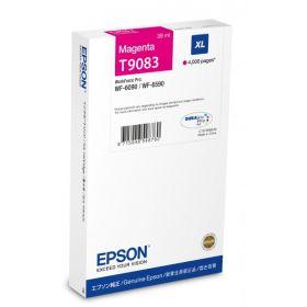 EPSON ORIGINAL - Epson T9083 Magenta (4000 pages) Cartouche de marque pour WF-6090/ 6590