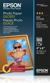 EPSON ORIGINAL - Papier photo glacé 10x15 cm 200g/m²- 100 feuilles