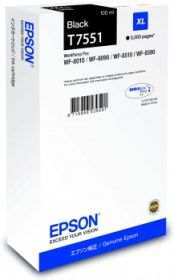 EPSON ORIGINAL - Epson T7551 Noire (100ml) Cartouche de marque