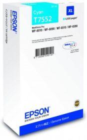 EPSON ORIGINAL - Epson T7552 Cyan (39ml) Cartouche de marque