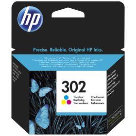 HP ORIGINAL - HP 302 / F6U65AE Couleur (4 ml) cartouche de marque