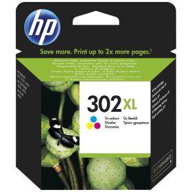 HP ORIGINAL - HP 302XL / F6U67AE Couleur (8 ml) cartouche de marque