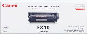 CANON ORIGINAL - Canon FX-10 Noir (2000 pages) Toner de marque