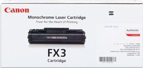 CANON ORIGINAL - Canon FX-3 Noir (2700 pages) Toner de marque