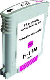 RECYCLE HP - 11 / C4837A Magenta (28 ml) Cartouche remanufacturée avec puce