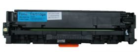 COMPATIBLE HP - 305A / CE411A Cyan (2600 pages) Toner remanufacturé