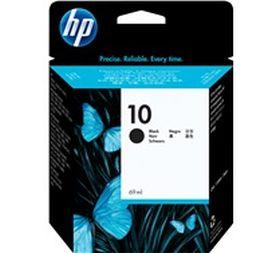 HP ORIGINAL - HP 10 / C4844A Noir (69 ml) Cartouche de marque