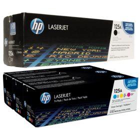 HP ORIGINAL - HP 125A  Pack de 4 Toners (Noir, Cyan, Magenta, Jaune)
