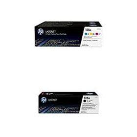 HP ORIGINAL - HP 128A Lot de 4 Toners de marque