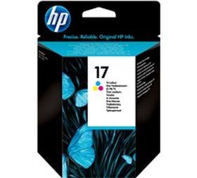 HP ORIGINAL - HP 17 / C6625A Couleurs (15 ml) Cartouche de marque