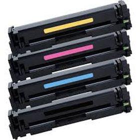 COMPATIBLE HP - 201X Pack de 4 Toners génériques CF400X, CF401X, CF402X, CF403X